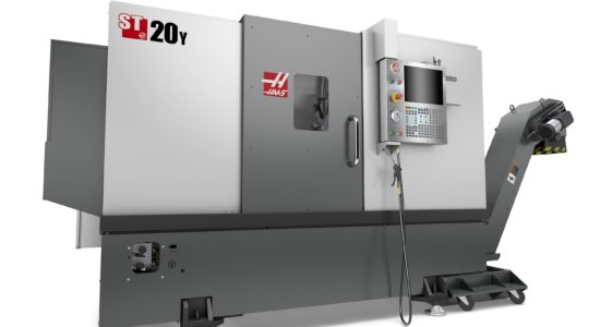 Welcoming HAAS ST-20Y Turnmill