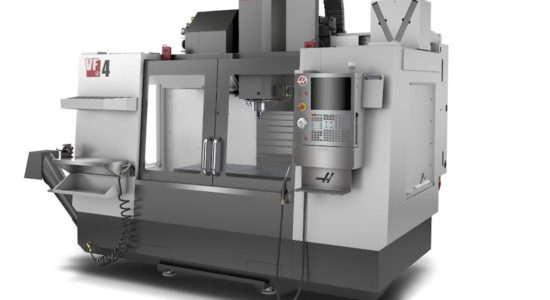 Haas VF-4 in-action