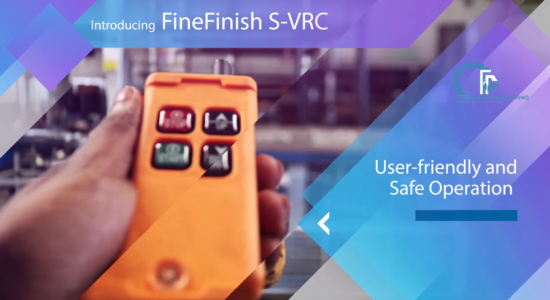 Introducing FineFinish S-VRC